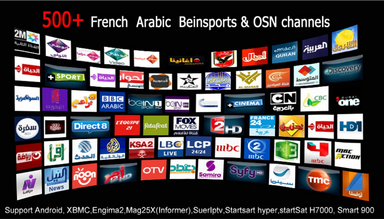 Arabic IPTV Package(M3U Playlists)