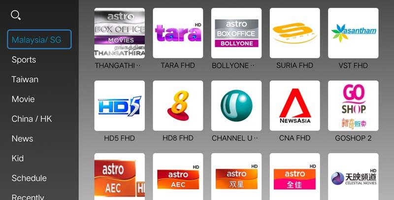 Premium IPTV Astro IPTV Malaysia